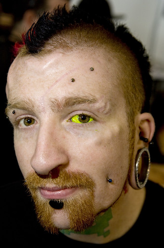 Yellow Eyeball Tattoo | Eyeball Tattoo