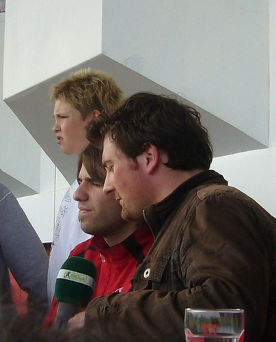 Ioannis Foukis als Co-Kommentator von Radio 90elf.de