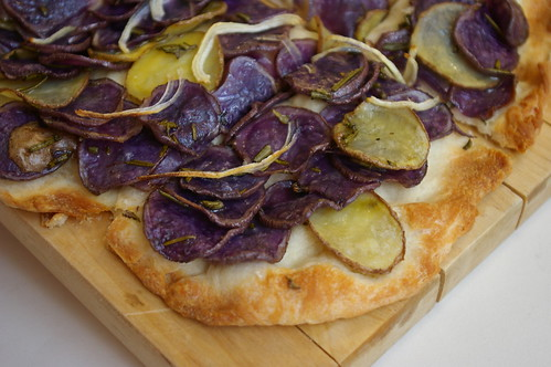 Potato Pizza with Rosemary II
