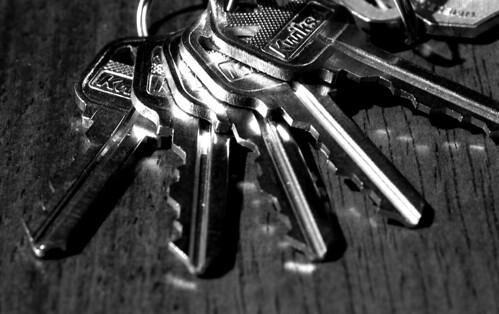Keys. (Efke 25. Nikon F100. Epson V500.)
