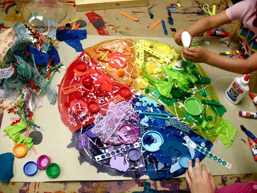 color wheel work