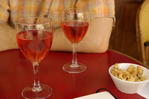 wine & peanuts