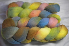 Shady Fibers roving Tulips