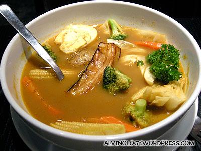 Rachels Hokkaido vegetable soup curry