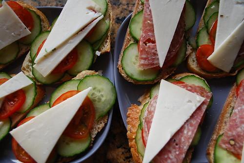 O's yummy sandwiches