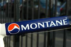 Montane logo on markus bike