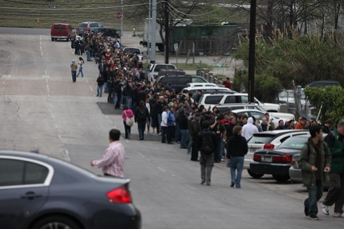 Diggnation Party Line at SXSW