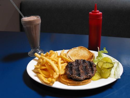 Bashful Bull Burger Special 2