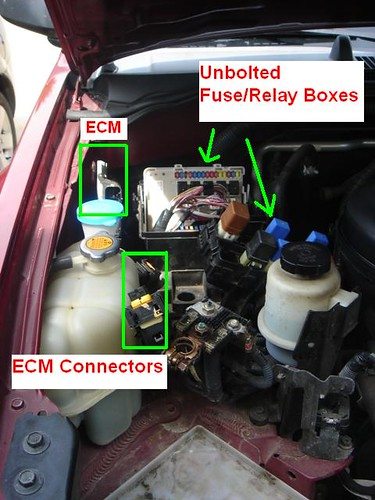 2005 Xterra Fuse Box Location