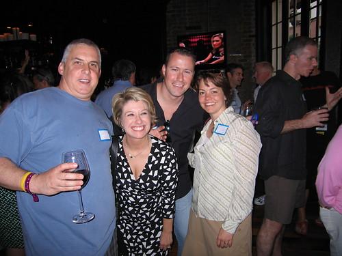Mark, Laurie, Gary and Kari (Stelzner)