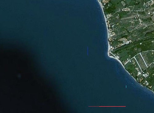 Destinatia in Google Earth