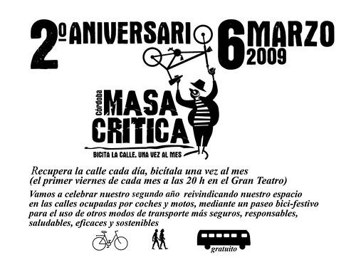 Aniversario Masa Critica en Córdoba