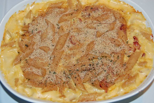 Macaroni and Cheese Overhead