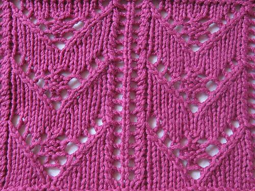 chevron_and_berry_stripe_pattern