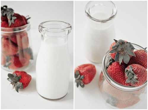 Cream and Strawberries