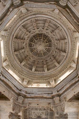 Temple Ceiling, Ranakpur