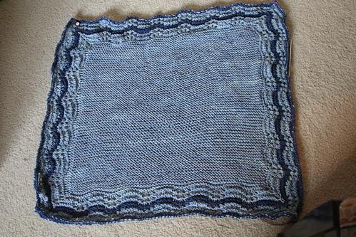 for Rav: Hap Blanket, WIP