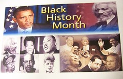 Black History Month Sign up close