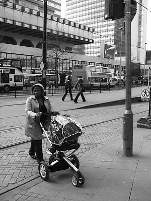 crossing the tramlines