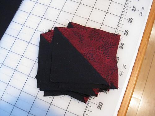 Half Square Triangle Units