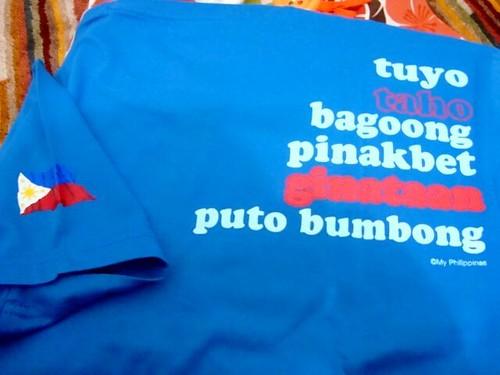 statement tee from Kulturang Filipino