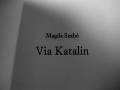 magda szabó, via katalin, Einaudi 2008: frontespizio (par.)