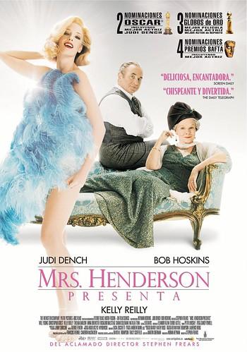 Título:  Mrs Henderson Presenta. por ti.