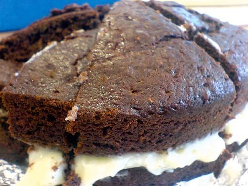 vintage choc cake