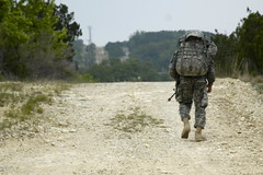 IMCOM Best Warrior Competition 12-mile ruck march, May 24