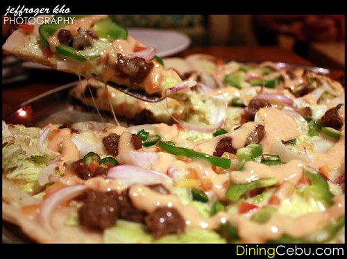 Da Vinci's Pizza Restaurant in Cebu Philippines - Spicy Shawarma