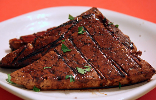 Balsamic Glazed Grilled Tofu 1