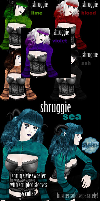 New Shruggie separate from ~silentsparrow~