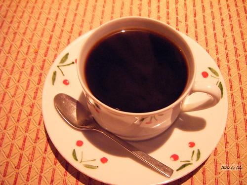 三槐堂的藍山咖啡。