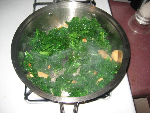 Kale and Garlic