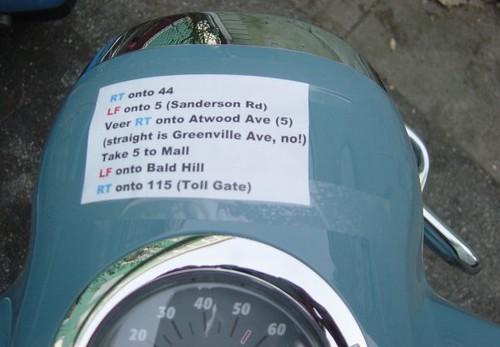 Ghetto GPS from Smithfield to West Warwick