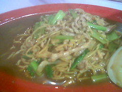 Mum's Foochow fried noodles