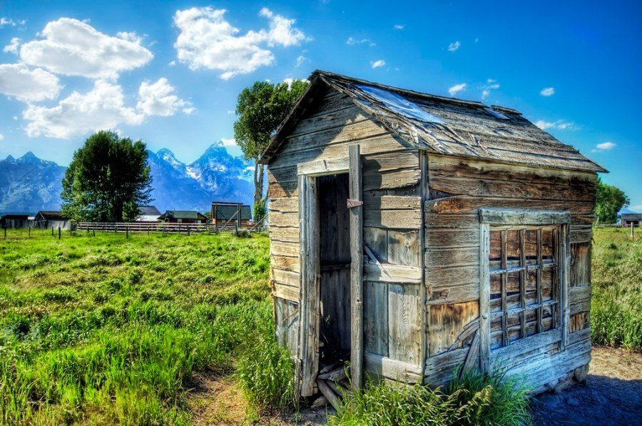 The Tiny Shack on the Edge of Wyoming (by Stuck in Customs)