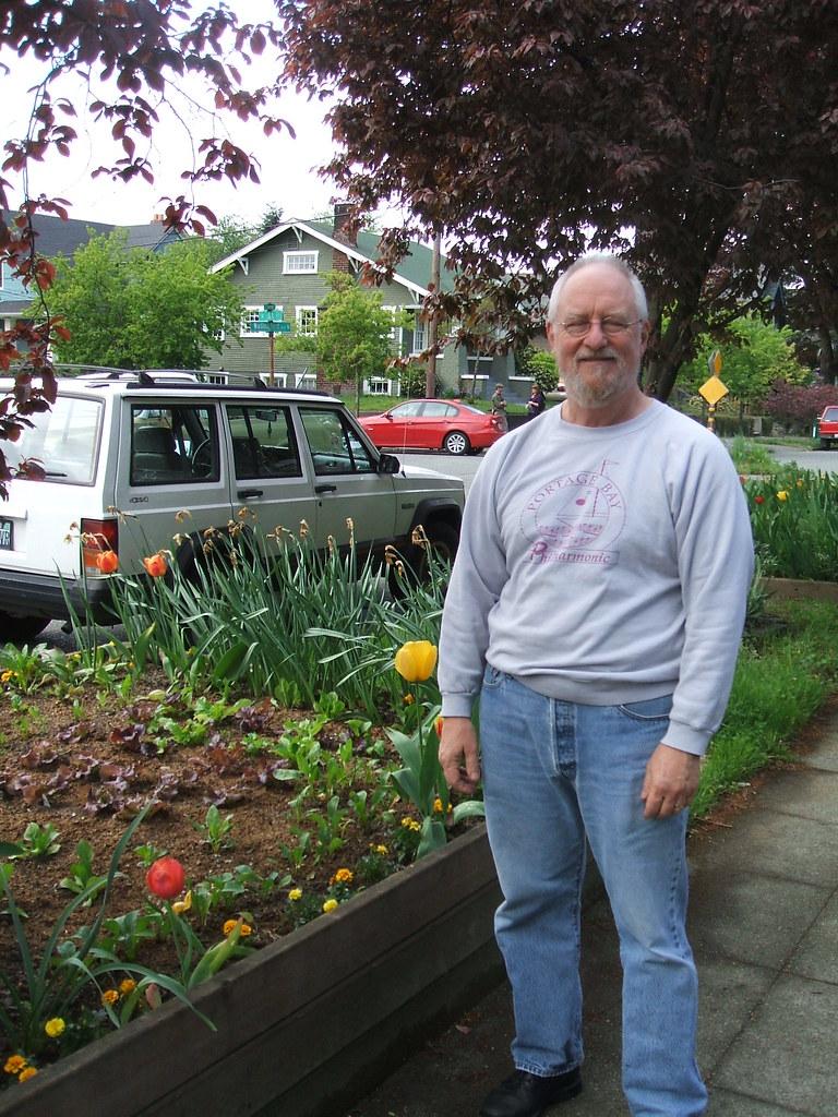Parking Strip Raised Bed Gardener #1