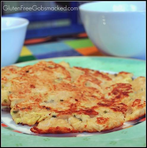 Gluten Free, Vegetarian Mung Bean Pancakes