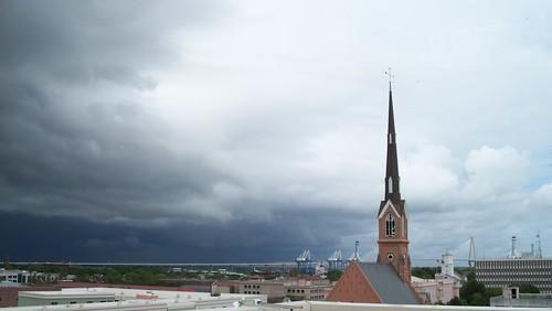 Stormy day in Charleston