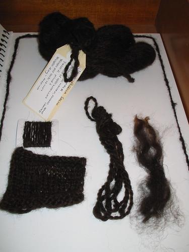 Alpaca Homework - 2 ply woollen spun