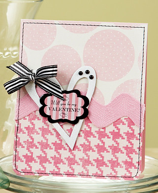 Annette Kings Will You Be My Valentine Card from CC7
