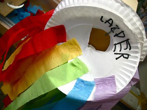 rainbow streamer kites