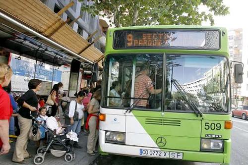 Autobus de Aucorsa.