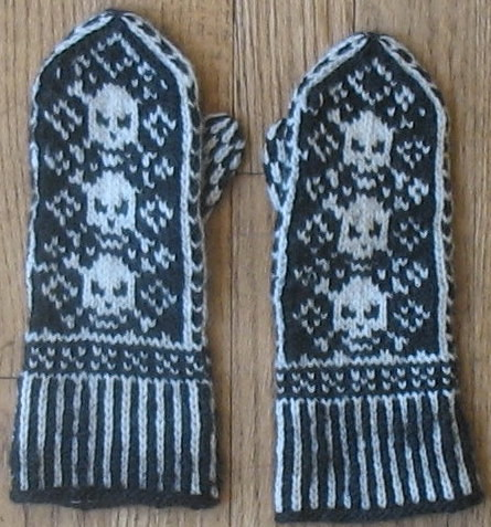 Pirate Mittens