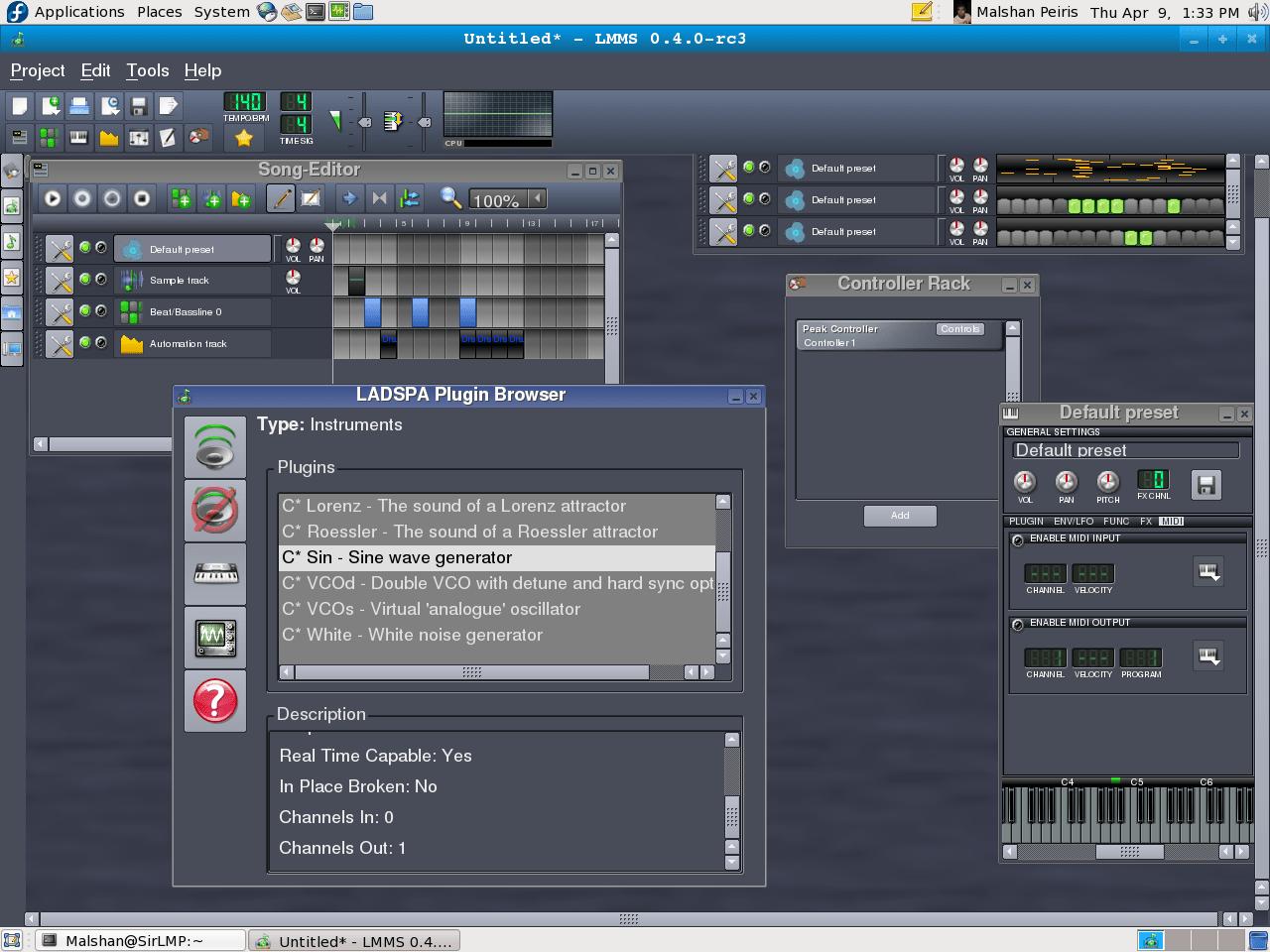LMMS (Linux Multimedia Studio) – a FL Studio like FOSS
