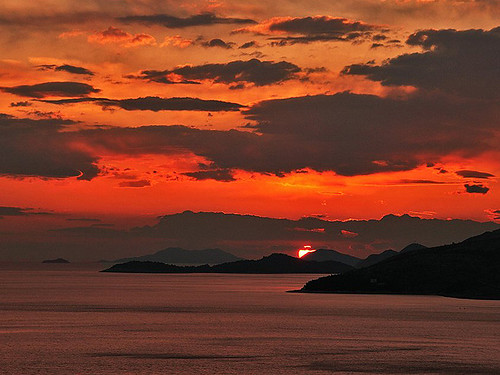 Dubrovnik sunset by Viper