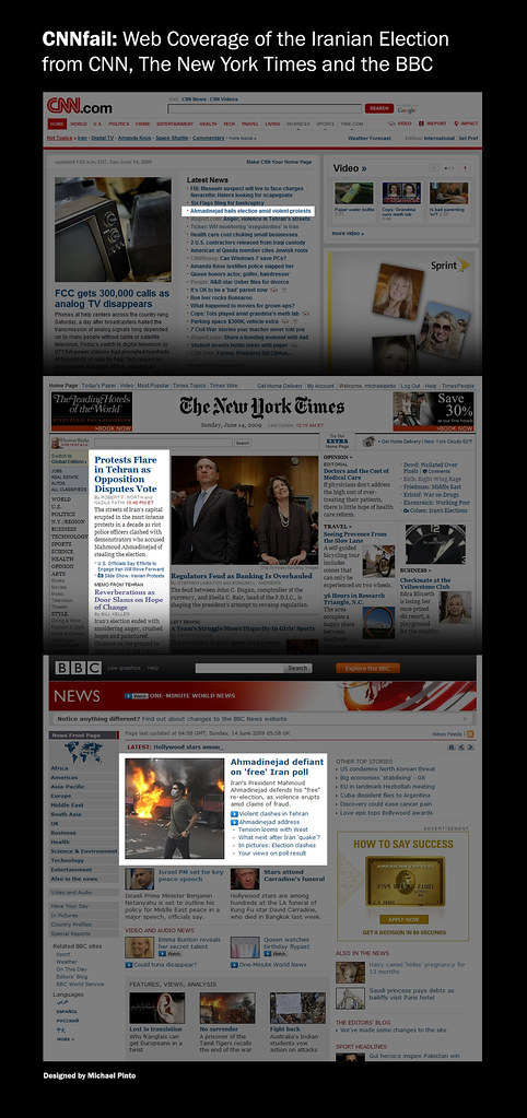 #CNNfail: Web Coverage of the Iranian Po by michaeljamespinto, on Flickr
