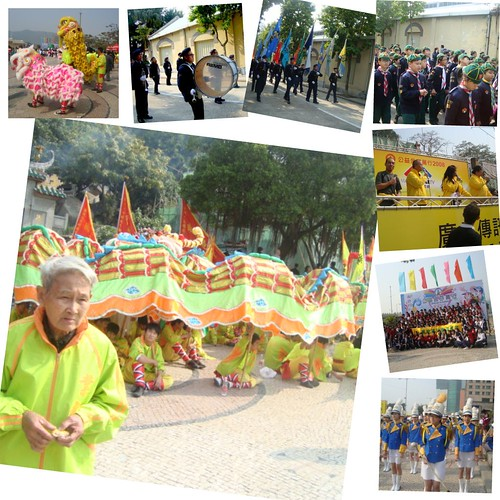 Macau collage