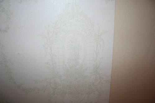 Pattern we found under paper in dining room